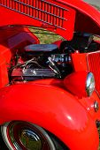 1936 Ford Coupe motor
