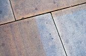 foto of paving  - Stained  - JPG