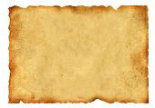 stock photo of medieval  - Old parchment - JPG