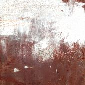 picture of dimples  - rusty metal texture in spots and dimples - JPG