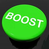 Boost Button Shows Promote Increase Encourage