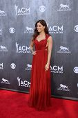 LAS VEGAS - APR 6:  Cassadee Pope at the 2014 Academy of Country Music Awards - Arrivals at MGM Gran