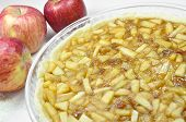 Apple pie, preparation