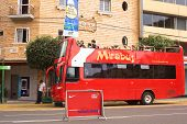 Mirabus Sightseeing Bus in Miraflores, Lima, Peru