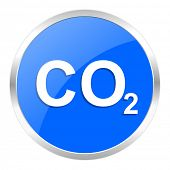 foto of carbon-dioxide  - carbon dioxide icon - JPG