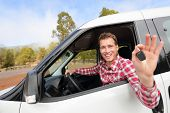 stock photo of driver  - New cars  - JPG