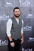 LAS VEGAS - APR 6:  Tyler Farr at the 2014 Academy of Country Music Awards - Arrivals at MGM Grand G