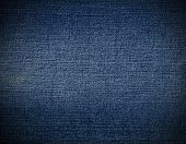 pic of denim jeans  - Striped textured blue used jeans denim linen vintage background - JPG