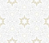 stock photo of indian wedding  - Abstract geometric texture in vintage style with gold snowflakes and silver shapes for Christmas and holiday decor or wedding invitation background - JPG
