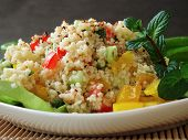 pic of tabouleh  - Close up of a traditional Arabian dish - JPG