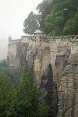 stock photo of megaliths  - Cesky raj sandstone cliffs  - JPG