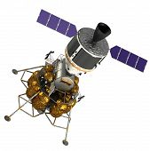 picture of ares  - Crew Exploration Vehicle On White Background - JPG