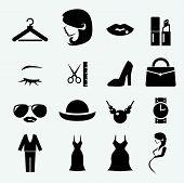 image of fat lip  - web icon illustration design vector sign symbol - JPG