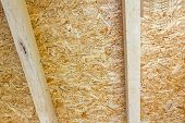 stock photo of attic  - Thermal insulation material  - JPG