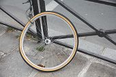 pic of lock  - Stolen bicycle  - JPG