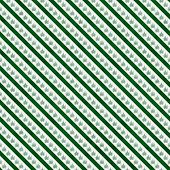 stock photo of marijuana leaf  - Green Marijuana Leaf and Stripes Pattern Repeat Background that is seamless and repeats - JPG