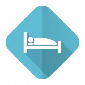 foto of flat-bed  - hotel flat icon bed sign