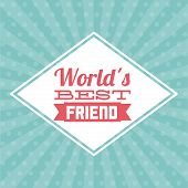 stock photo of  friends forever  - best friend graphic design  - JPG