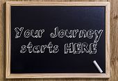 Постер, плакат: Your Journey Starts Here