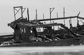 stock photo of shipwreck  - The Maheno - JPG