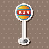 foto of bus-shelter  - Bus Stop Theme Elements - JPG