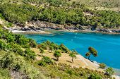 picture of peaceful  - a view of a peaceful cave in the Costa Brava - JPG