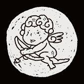 foto of cupid  - Cupid Doodle - JPG