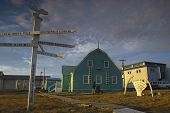 Most Northern Point Of The United States, The Village Of Barrow, Alaska