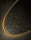 Luxury Black Background, vector