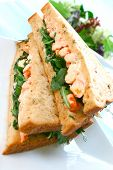 Delicious Crayfish/King Prawn Sandwich