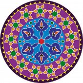 picture of kolam  - Rangoli - JPG