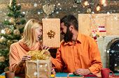Party Christmas, New Year Gift. Christmas Decoration. Wish You Merry Christmas poster