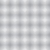 Vector Seamless Pattern. Infinitely Repeating Modern Geometrical Stylish Texture. Rhombic Linear Gri poster