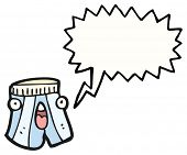 cartoon shocked underpants