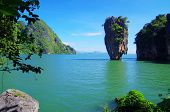 foto of james bond island  - james bond island in thailand - JPG