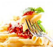 picture of basil leaves  - Pasta - JPG
