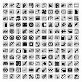 Car part icons