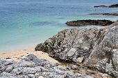 stock photo of galway  - Beautiful view on Coral Beach Carraroe Co - JPG
