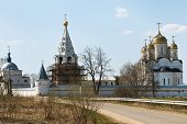 picture of rebuilt  - ancient Luzhetsky Monastery founded in 1408 by St - JPG