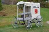 pic of amputee  - 1800s Ambulance - JPG