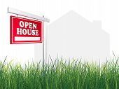 Real Estate Sign - Open House