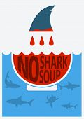 picture of fin  - No shark finning - JPG