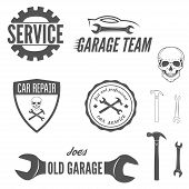 pic of garage  - Collection of logo - JPG