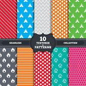 picture of tent  - Seamless patterns and textures - JPG