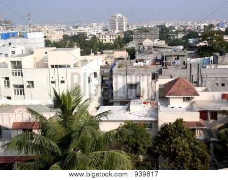 poster of Hyderabad Indian City