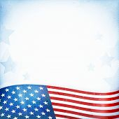 foto of striping  - US American flag themed background - JPG