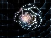 pic of human soul  - Geometry of Soul series - JPG