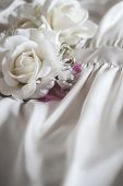 picture of white gown  - Close - JPG