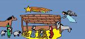 picture of nativity scene  - Christmas Nativity scenes  - JPG