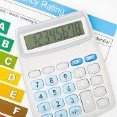 picture of efficiencies  - Calculator and energy efficiency chart  - JPG